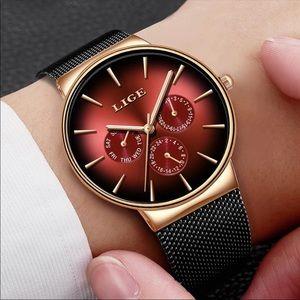 New Top Brand Luxury Quartz Waterproof wristwatch